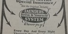 This Is the Oldest Car Rental Advertisement You'll Ever See