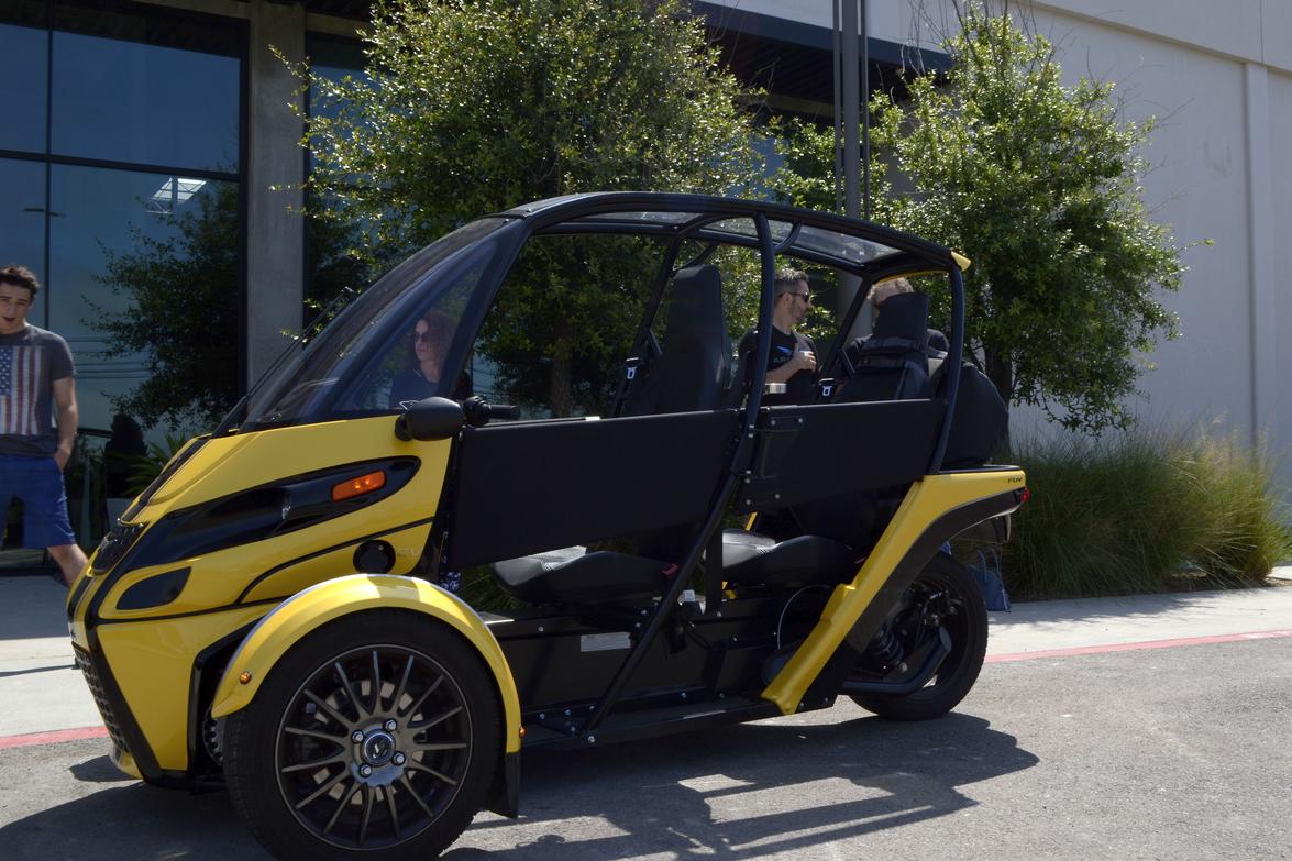 Arcimoto's Fully-Electric Fun Utility Vehicle