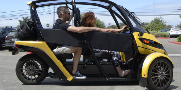 The first recipients of the fun utility vehicles, which are still in beta testing, will be...