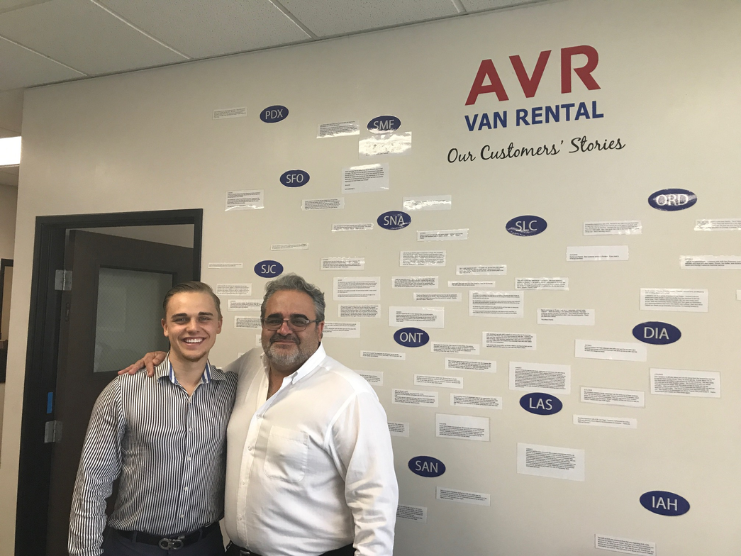Auto Rental News' (ARN)first stop was Airport Van Rental at LAX, where we met with Yaz Irani...