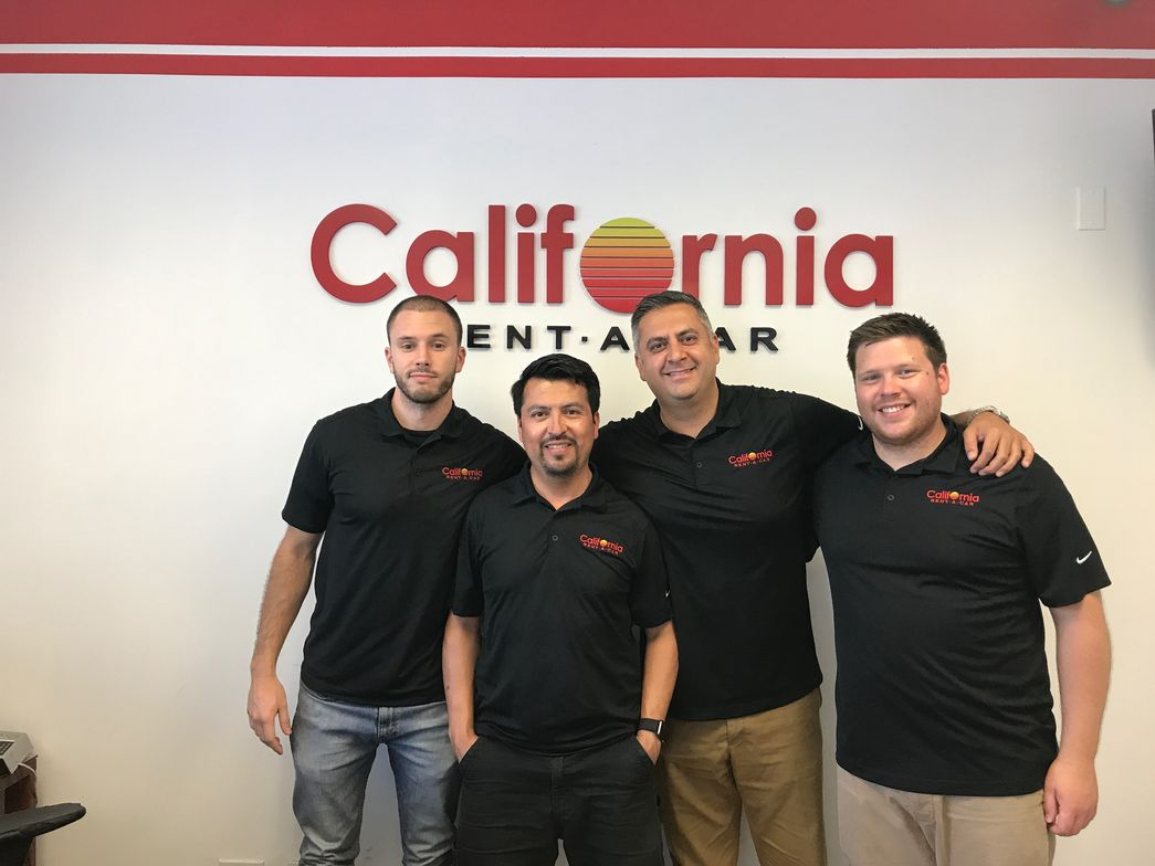 Leaving LAX, ARN drove to West LA, where we met with Steve Vahidi, president of California Rent...