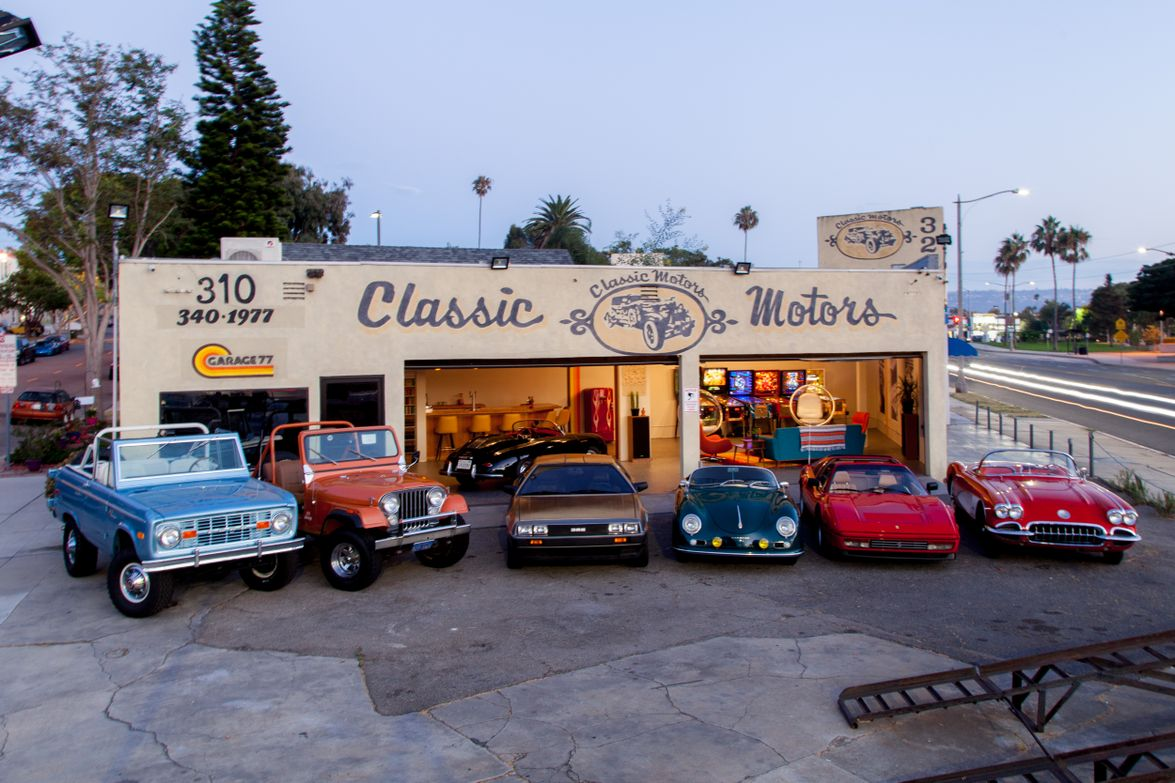 "Garage 77, located along Pacific Coast Highway in Redondo Beach, Calif., bills itself as ""the..."