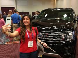 2018 International Car Rental Show Exhibit Hall
