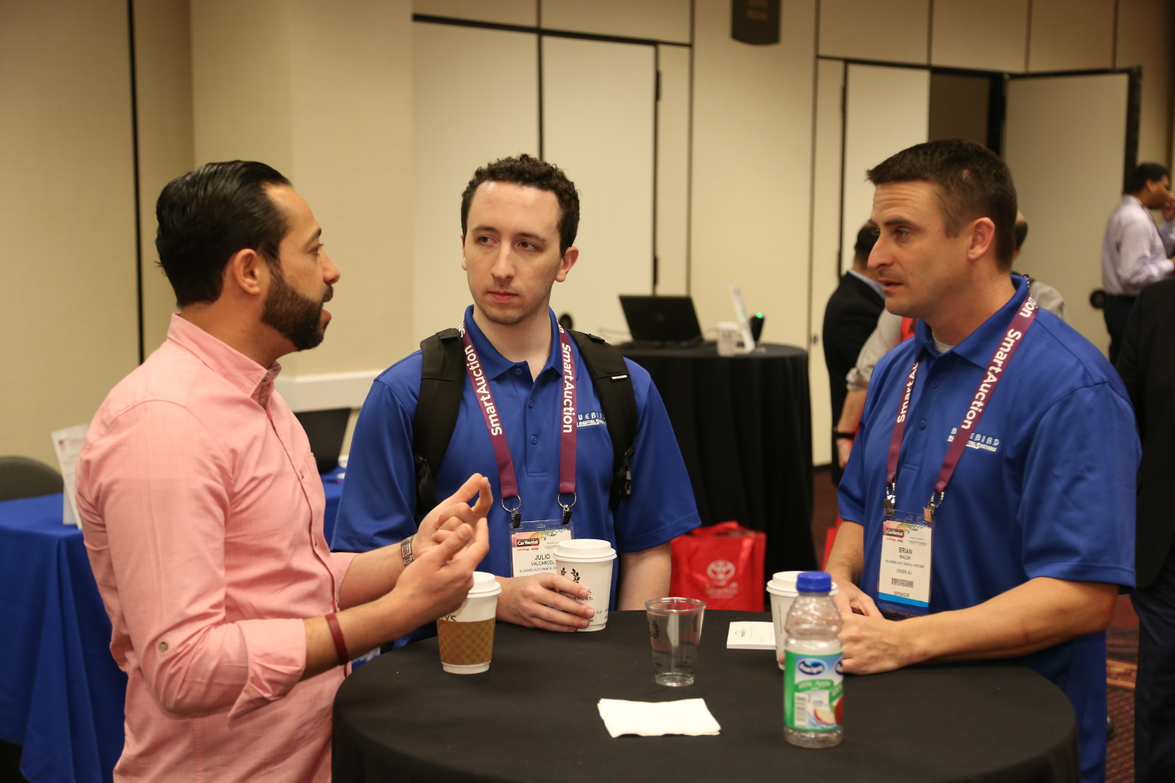 Networking at the 2018 International Car Rental Show