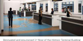 Renderings Show Updated Car Rental Counters at Long Beach Airport