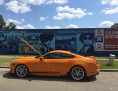 The Woods began their trip at the Chicago stop of the Hot Wheels Legend Tour in Romeoville, Ill....