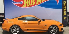 'Mr. Hot Wheels' Takes Custom Sixt Edition Shelby GT-S on Road Trip