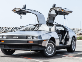 The 1981 DMC DeLorean is sure to grab the attention of all Back To The Future fans.