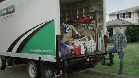 Enterprise Picks Up NHL's Martin Brodeur in New TV Ad