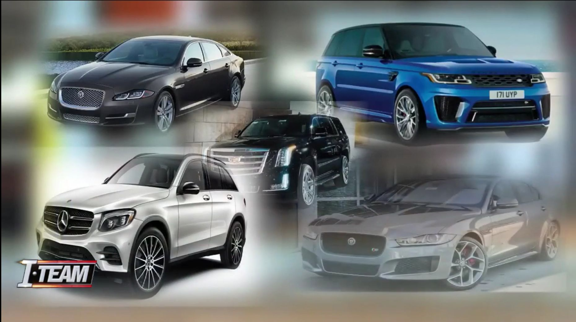 <p>The stolen vehicles — a brand-new Maserati, a Jaguar, a Porsche Cayenne, a Mercedes, a Land Rover Range Rover Sport, a Cadillac, and an Infiniti QX80 — are valued together at about $1.35 million</p>[|CREDIT|]<p><em>Screenshot via News4Jax.</em></p>