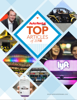 Auto Rental News - Top Articles of 2018