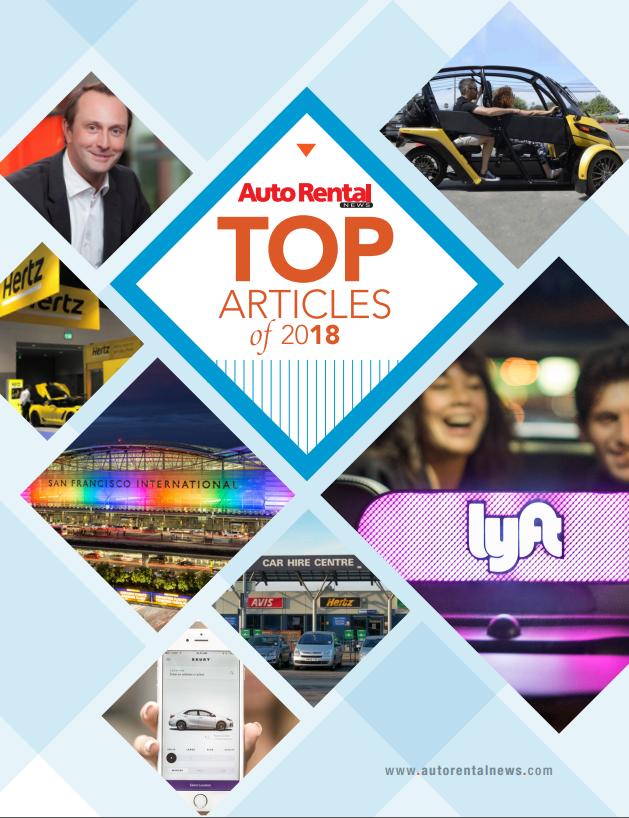 Auto Rental News - Top Articles of 2018