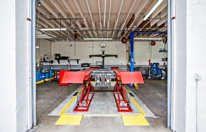 The shop annually invests in new equipment to keep abreast of equipment advances. -