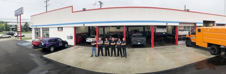 The Interstate crew, from left to right: Joe Lerchenfeld, Norm Schultz, Mark Adams, Nick Nalu, Casey O'Sullivan, Bill Nalu. -
