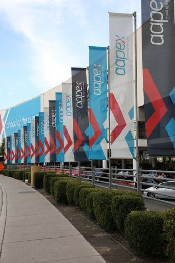 AAPEX will go on in 2020. Previous shows have included 2,700 exhibiting companies. - AAPEX