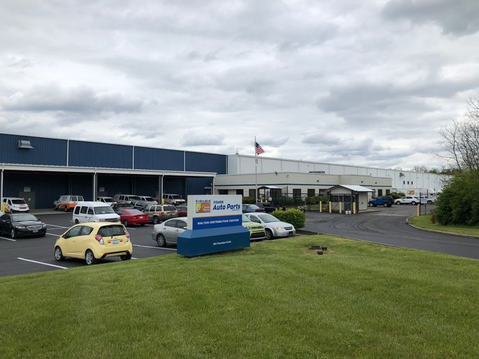 Fisher Auto Parts has opened a distribution center in Kentucky. -