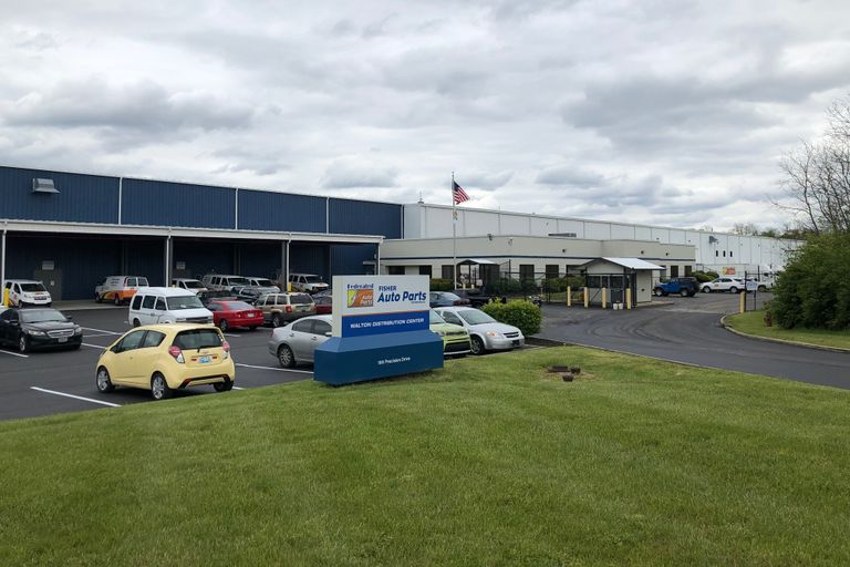 Fisher Auto Parts has opened a distribution center in Kentucky.