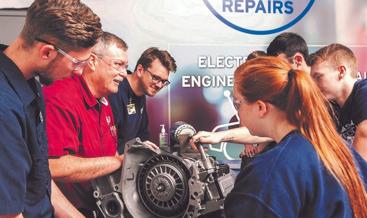 """Our scholarship program celebrates students who are driven to pursue automotive service as a profession and helps them reach their potential,"" says Brian Kaner, CEO – service, for Pep Boys – Manny, Moe & Jack, which Icahn Automotive owns.  -"