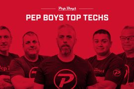 Pep Boys Announces 'Top Techs' Winners