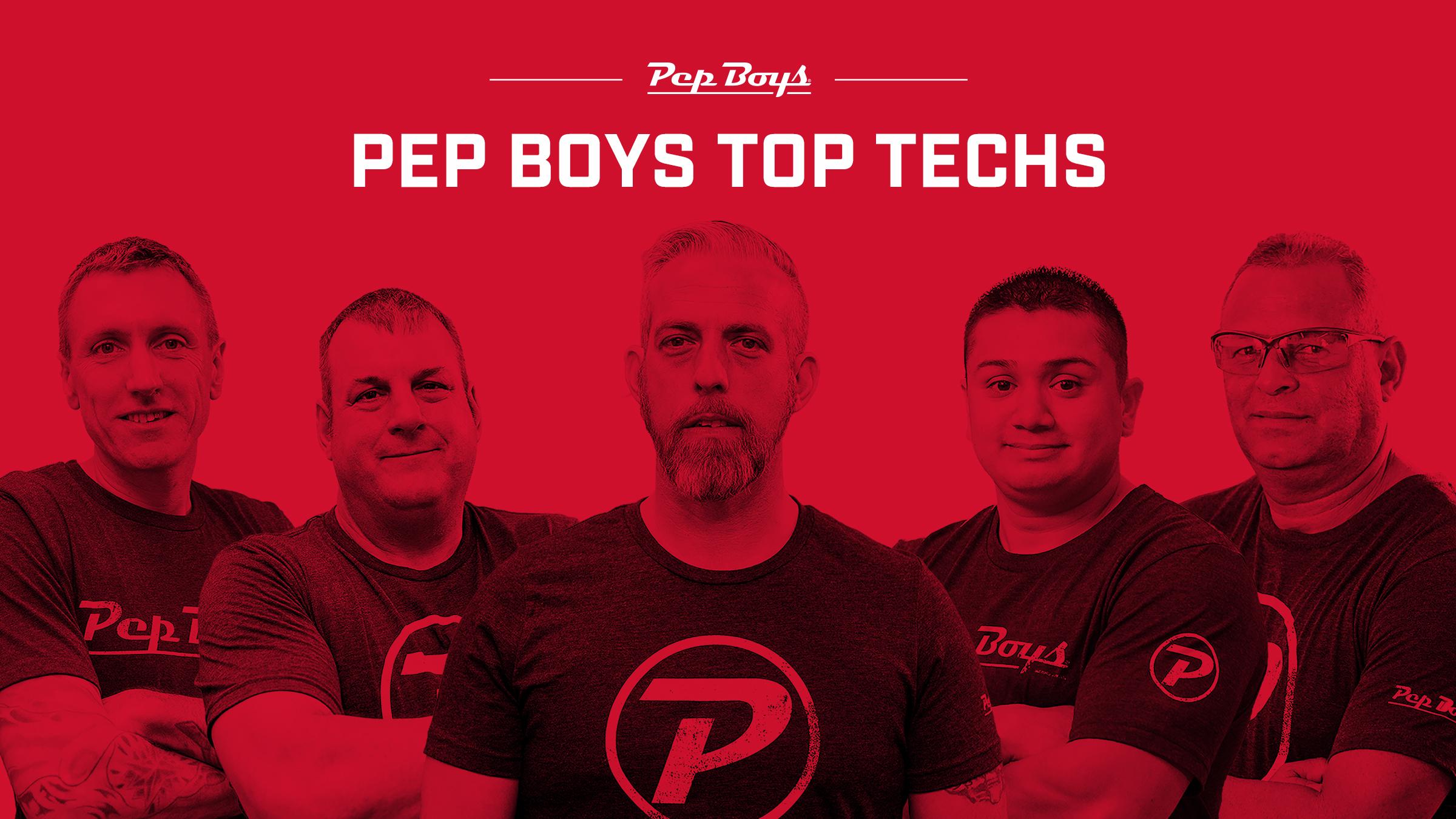 Pep Boys Announces 'Top Techs' Winners