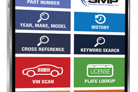 Standard Motor Products Updates SMP Parts App