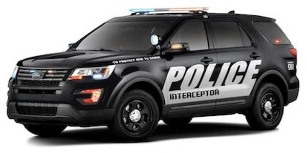 Ford Police Interceptor Gets Hot Under the Collar