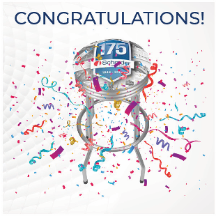 Five participants who scored above 80% on all five modules of Schrader's TPMS e-Training Course the chance to win one of the five exclusive Schrader 175th anniversary shop stools. -