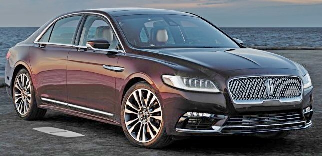 Lincoln Continentals Recalled Due to Door Latch Issue