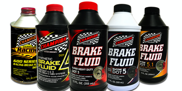 Champion Brands has added to its line of brake fluids.