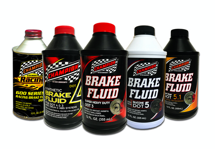Champion Brands has added to its line of brake fluids. -