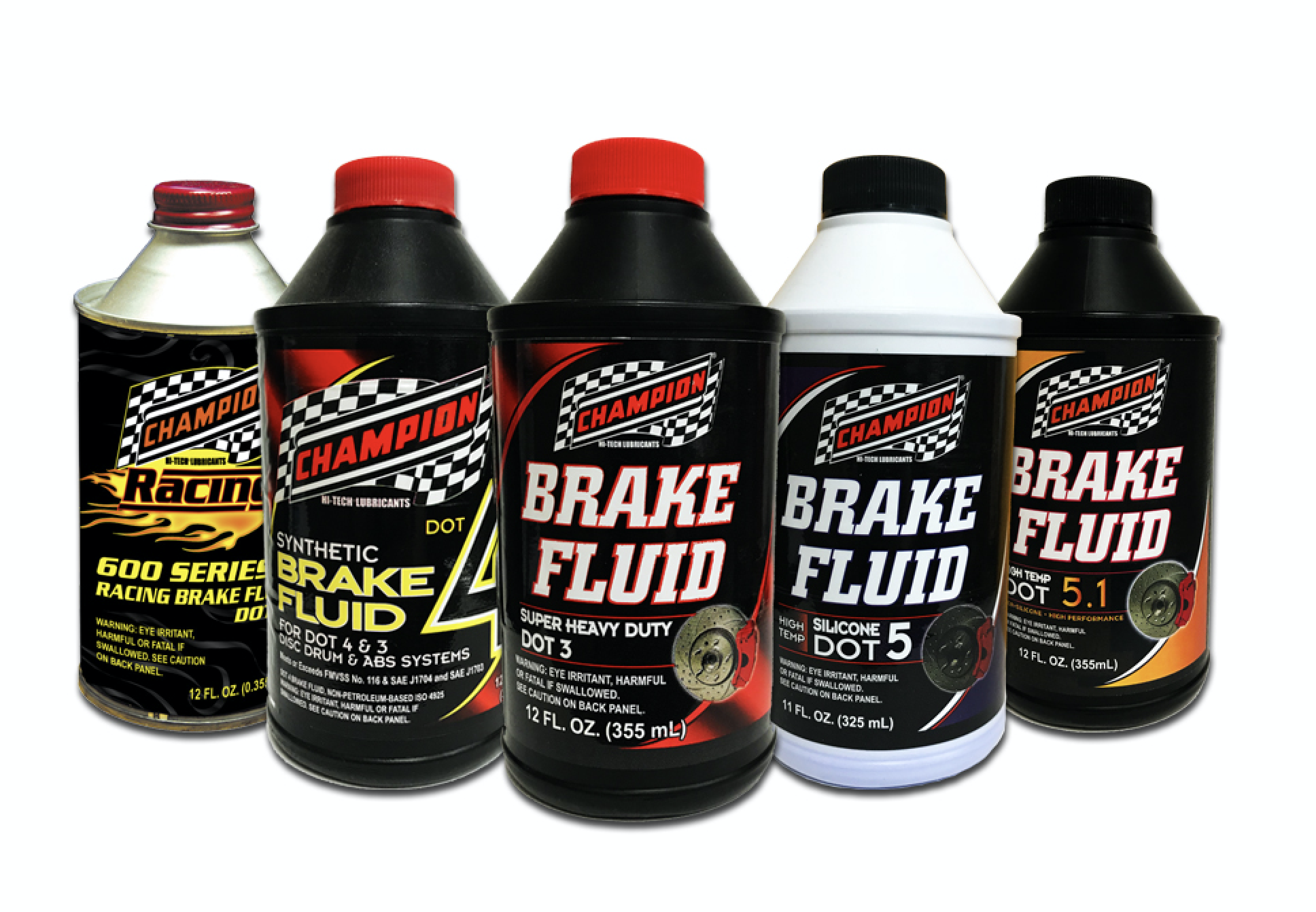 Champion Adds to Brake Fluid Line