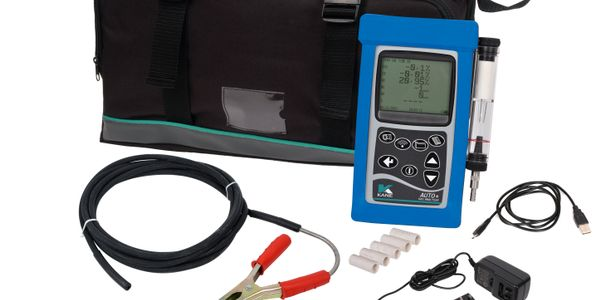 ANSED's five-gas analyzer is handheld and fully portable and all readings are live, not calculated.