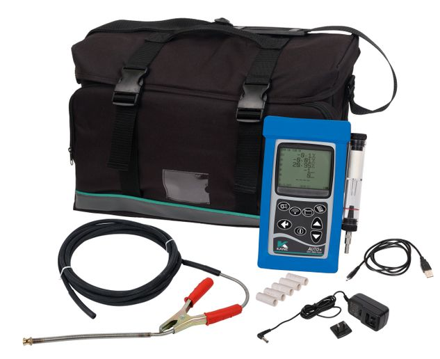 ANSED's five-gas analyzer is handheld and fully portable and all readings are live, not calculated. -
