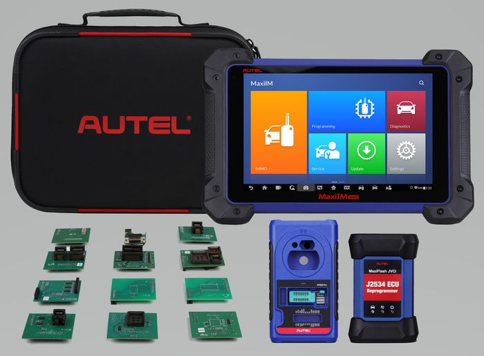 The IM608 enables key learning directly through the OBD II port for 85% of vehicles in North America. -
