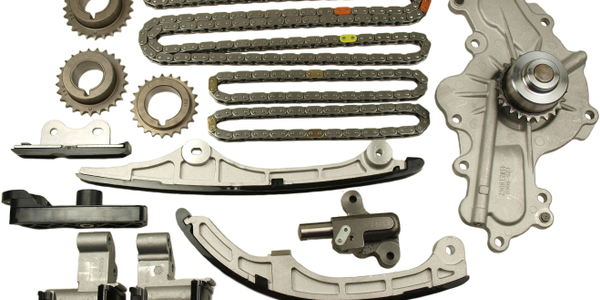 Cloyes' new kits are designed for the replacement of worn or damaged timing chains, tensioners,...
