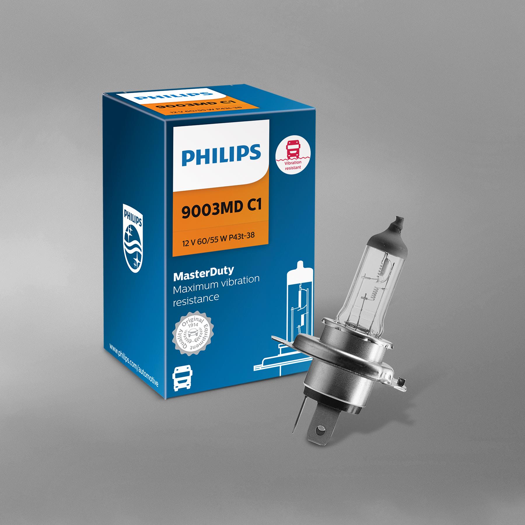 Lumileds Offers Philips MasterDuty Headlight Bulbs