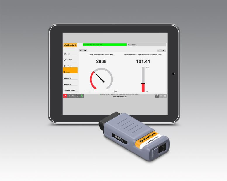 Streamline Vehicle Diagnosis with Continental Scan Tool