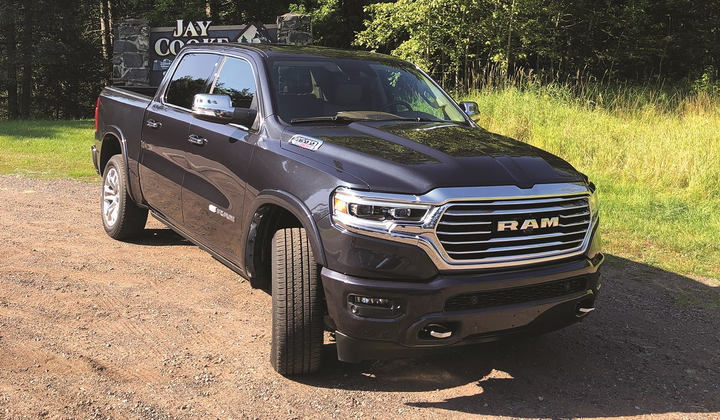 The low torque peak of the 3.0L EcoDiesel mated to the quick-shifting eight-speed transmission provides users with solid performance to fulfill fleet applications both on- and off-road.  - Photo by Mike Antich.