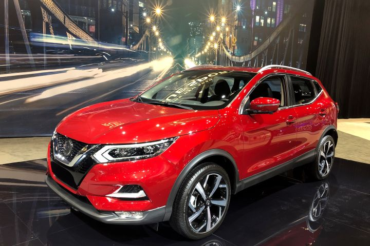 Nissan's 2020 Rogue Sportwill revisetrim levels and option packages in its fourth year in the U.S.  - Photo by Paul Clinton.