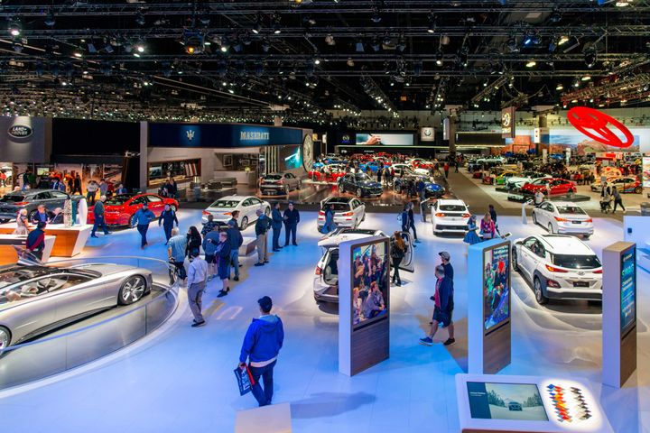 The 2019 edition of the Los Angeles Auto Show will again focus on electrified vehicles and mobility trends. - Photo courtesy of LA Auto Show.