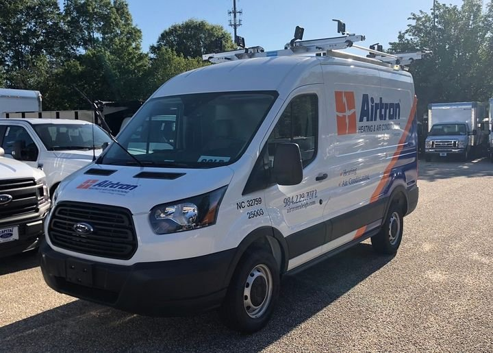 Direct Energy's fleet, which will fluctuate in size depending on acquisitions or divestitures, is mainly comprised of vans. There are currently 900 vehicles in Direct Energy's fleet; not too long ago it was 2,500 vehicles.   - Photo courtesy of Dina Kushaliyeva.