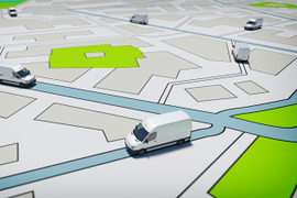 How GPS Tracking Improves ETAs and Communication for Service and Delivery Fleets