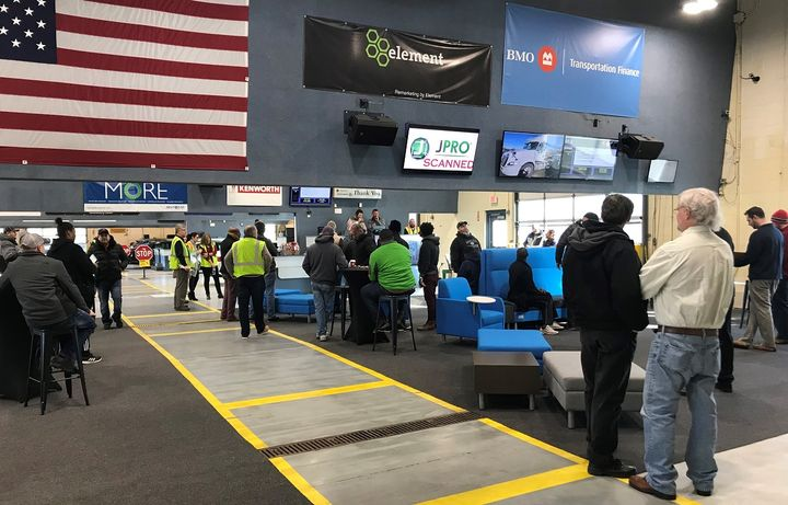 Buyers may view vehicles on the lot but are asked to respect social distancing. However, buying dealers will not be allowed to enter the physical auction buildings or lanes during sale day. - Photo courtesy of Manheim.