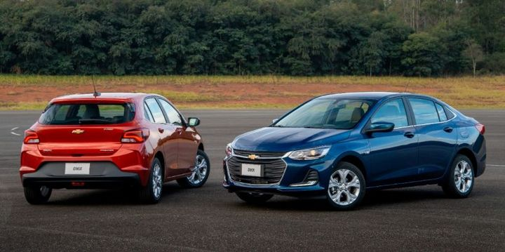 Brazil is the sixth largest car market in the world and also the second largest Chevrolet market in the world, according to General Motors, which was driven heavily by the commercial performance of the Chevrolet Onix. - Photo:General Motors