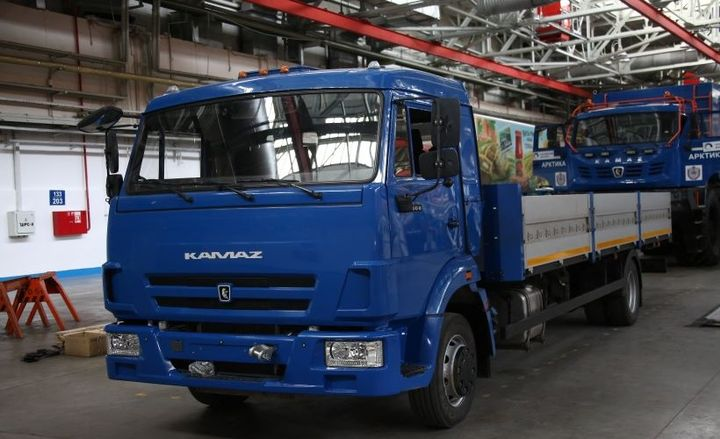 In 2018, Kamaz tested an unmanned version of its Kamaz-43083 diesel truck, called the Odyssey, which was designed to leave and return to the same place, on the intra-factory roads of Kamaz. - Photo: kamaz
