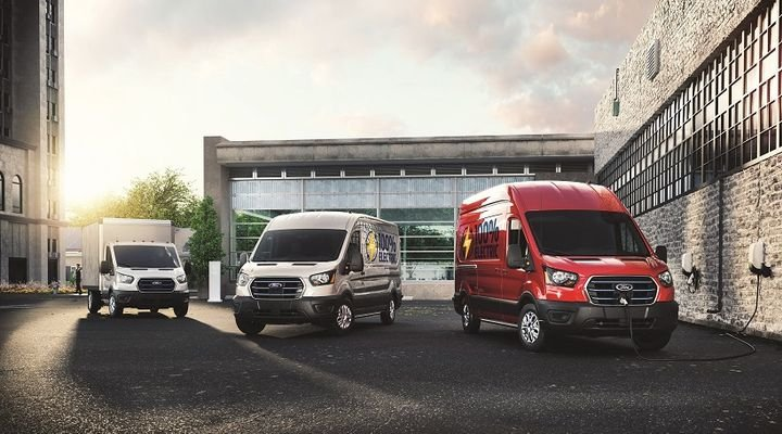 """""""We expect that global demand for full-size vans will grow another third by the end of this decade including a potential market for 1.1 million full-size, fully electric, connected commercial vehicles worldwide,"""" said Ted Cannis, general manager North American Commercial Business for Ford Motor Company. - Photo: Ford"""