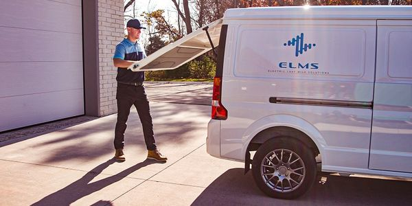 Electric Last Mile Solutions' EV urban delivery van will feature a range of 150 miles, with the...