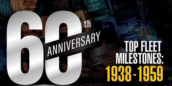 Major Fleet Milestones: 1938 - 1959