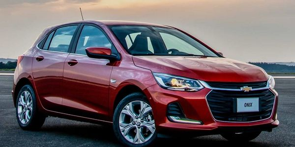 The top-selling vehicle in Brazil is the Chevrolet Onix