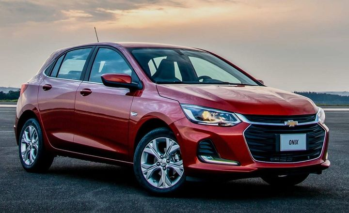 The top-selling vehicle in Brazil is the Chevrolet Onix - Source: General Motors